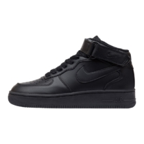 Nike Air Force 1 Mid '07 Black Leather