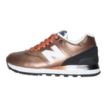 New Balance 574 Leather Brown Black